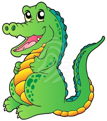 Crocodile clipart #9, Download drawings