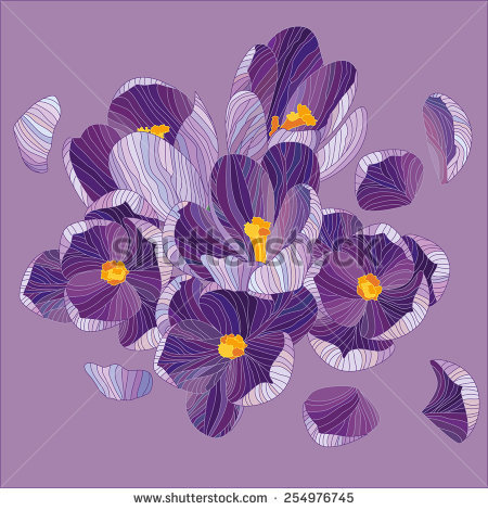 Crocus svg #1, Download drawings