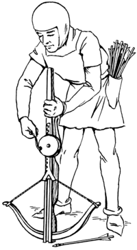 Crossbow coloring #4, Download drawings