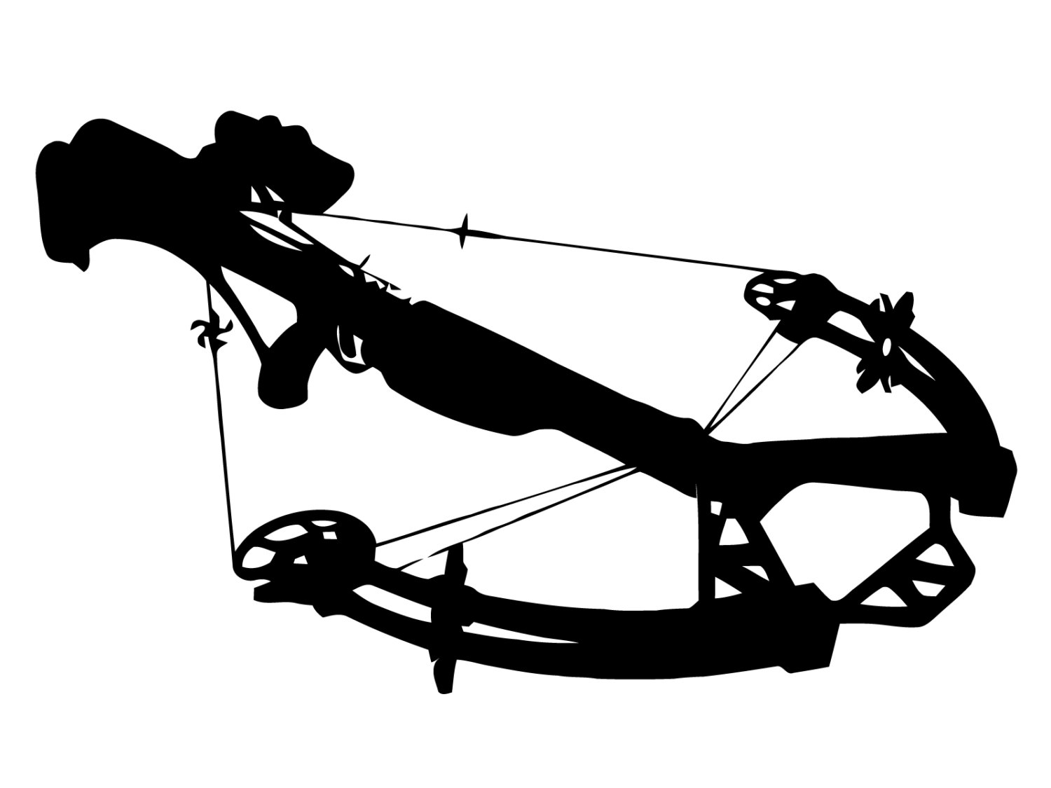 Crossbow svg #12, Download drawings