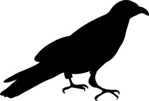 Crow clipart #15, Download drawings