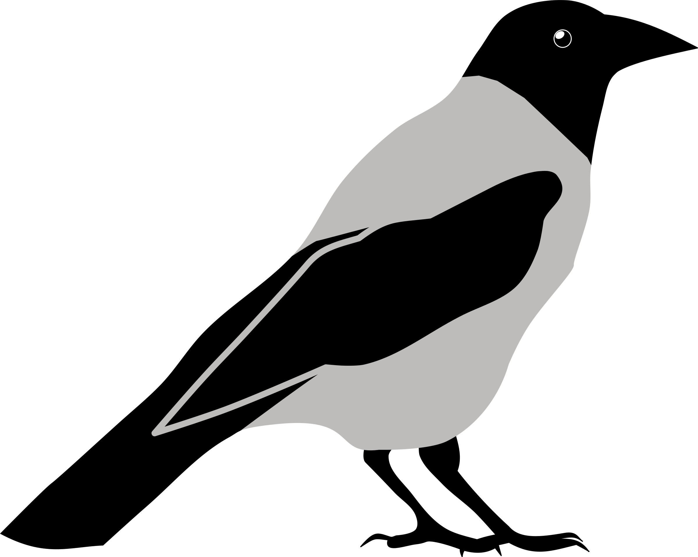 Crow clipart #5, Download drawings