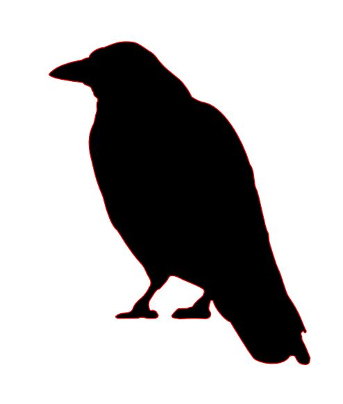 Crow clipart #8, Download drawings