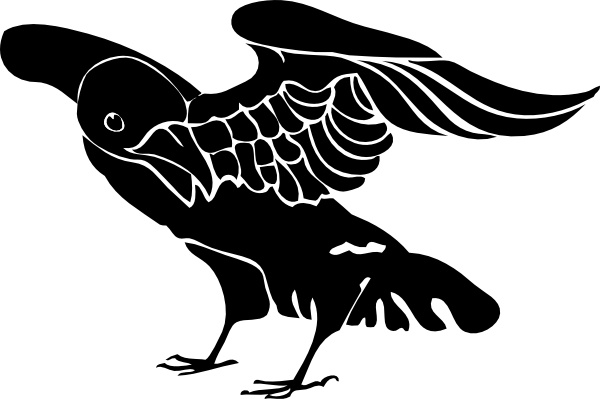 Crow clipart #11, Download drawings