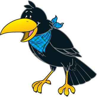 Crow clipart #18, Download drawings