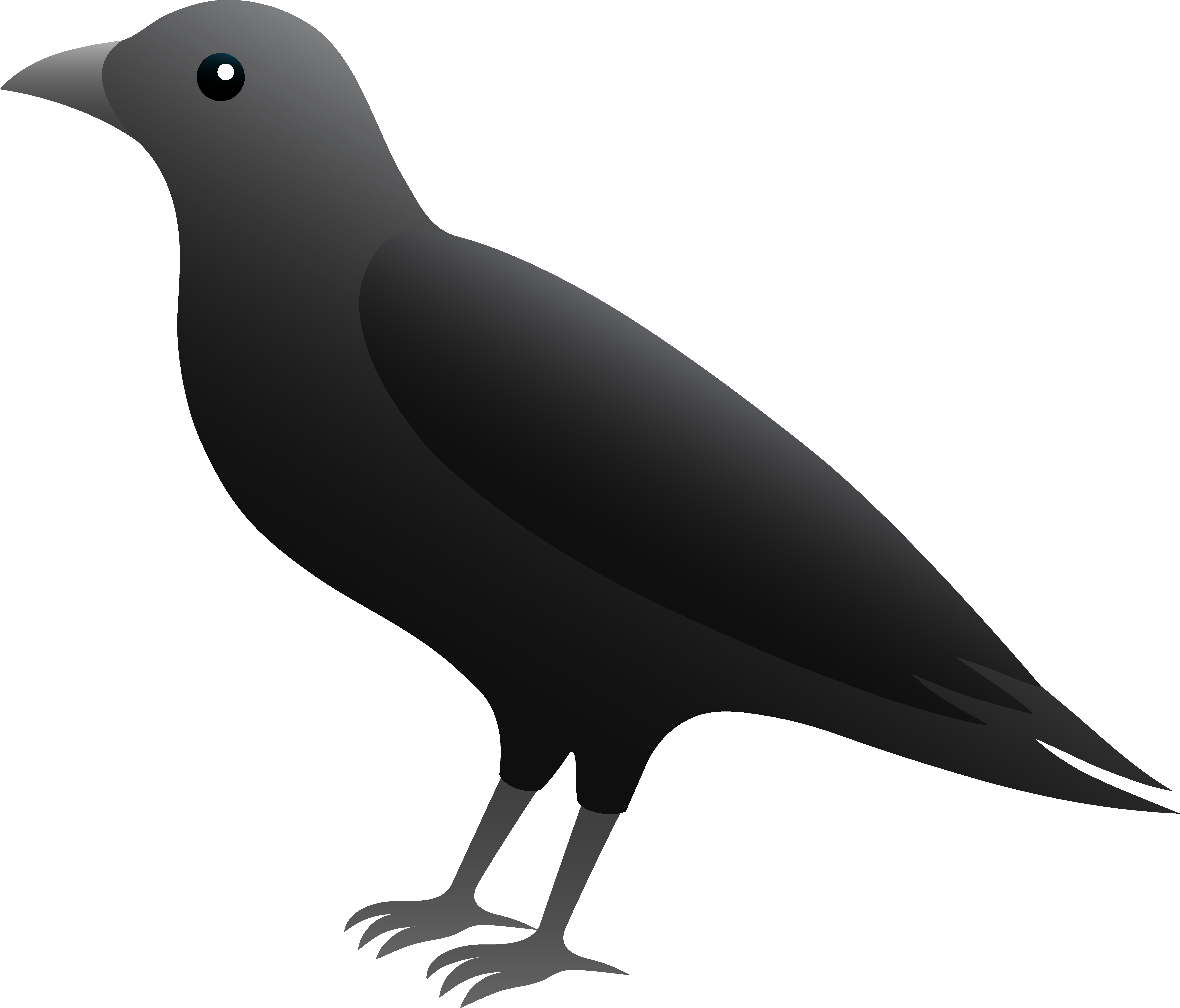 Crow clipart #3, Download drawings
