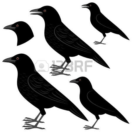 Crow clipart #2, Download drawings