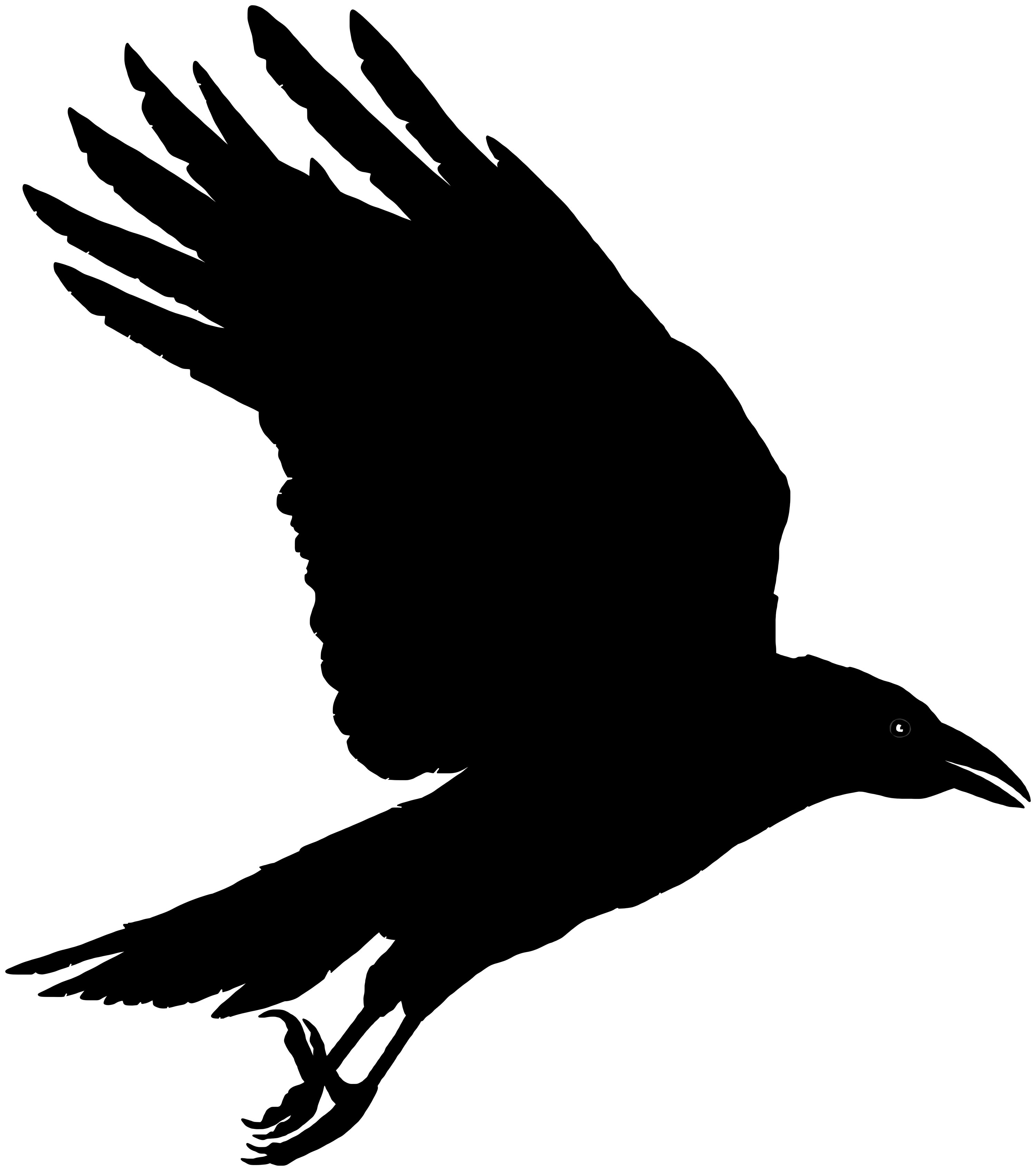 Crow clipart #12, Download drawings
