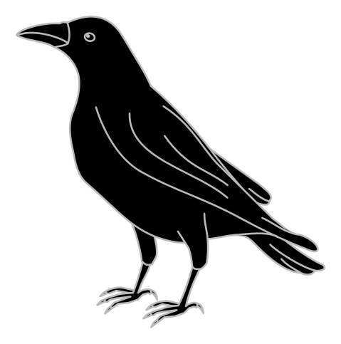 Crow svg #20, Download drawings