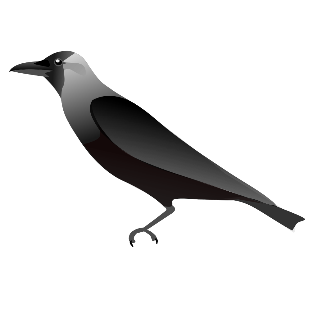Crow svg #1, Download drawings