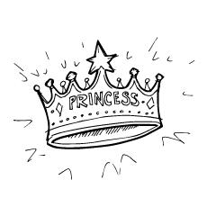 Crown coloring #16, Download drawings