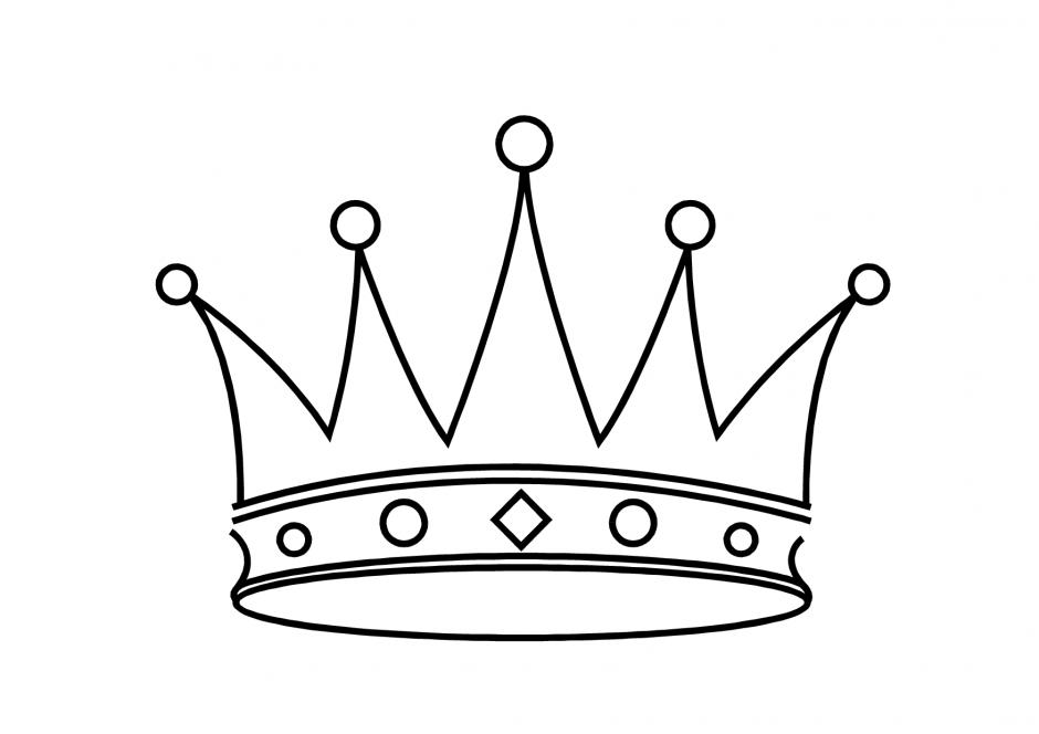 Crown coloring #12, Download drawings