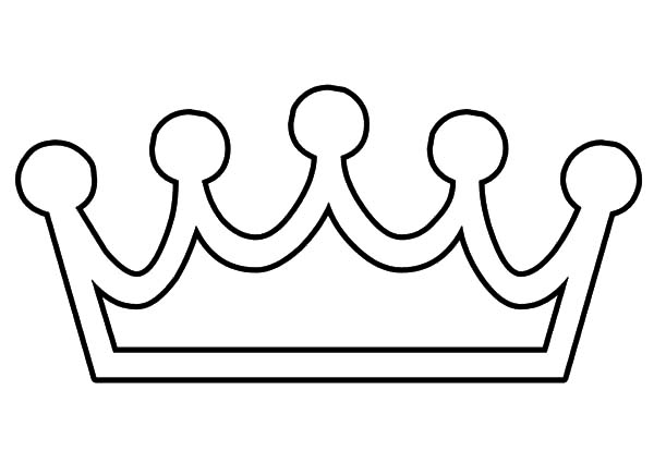 Crown coloring #13, Download drawings
