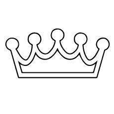 Crown coloring #9, Download drawings
