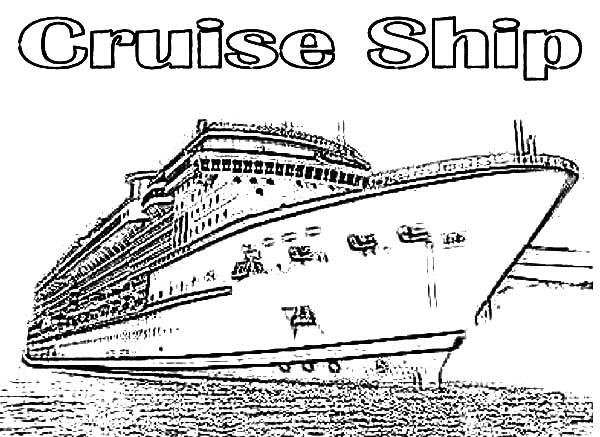 Cruise Ship coloring #11, Download drawings