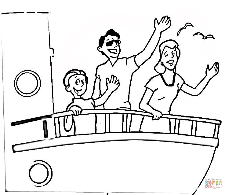 Cruise Ship coloring #9, Download drawings