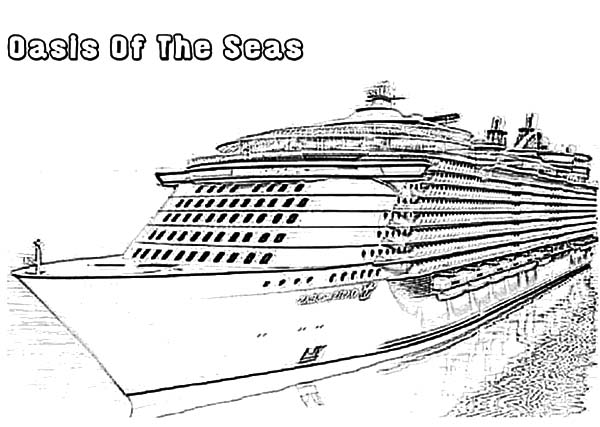 Cruise Ship coloring #18, Download drawings