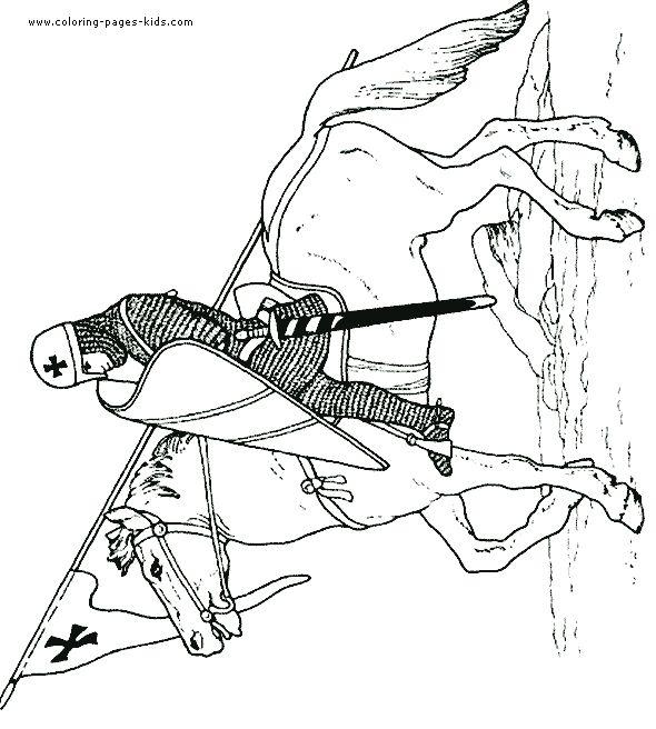 Crusade coloring #8, Download drawings