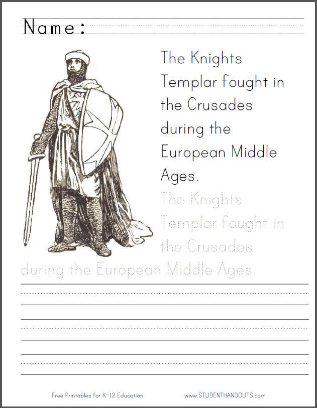 Templar coloring #14, Download drawings