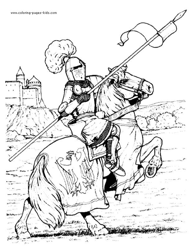Crusade coloring #18, Download drawings