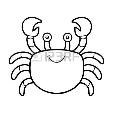 Crustacean coloring #10, Download drawings