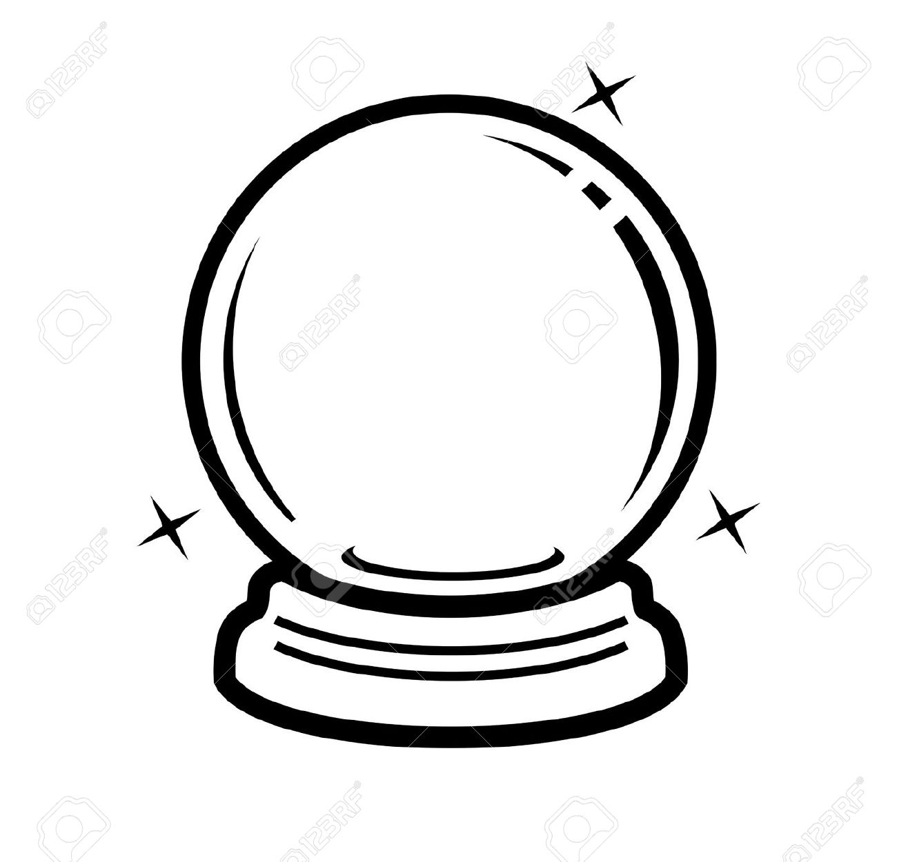 crystal ball coloring pages | Crystal Ball coloring, Download Crystal Ball coloring for ...