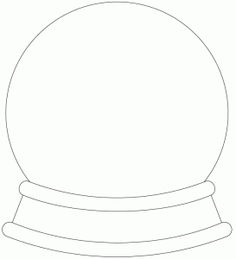 crystal ball coloring pages - photo#1