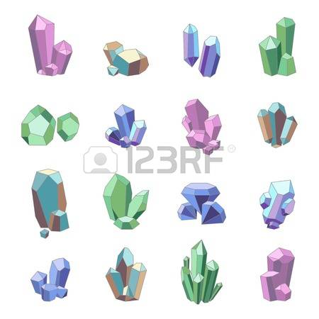 Crystals clipart #13, Download drawings