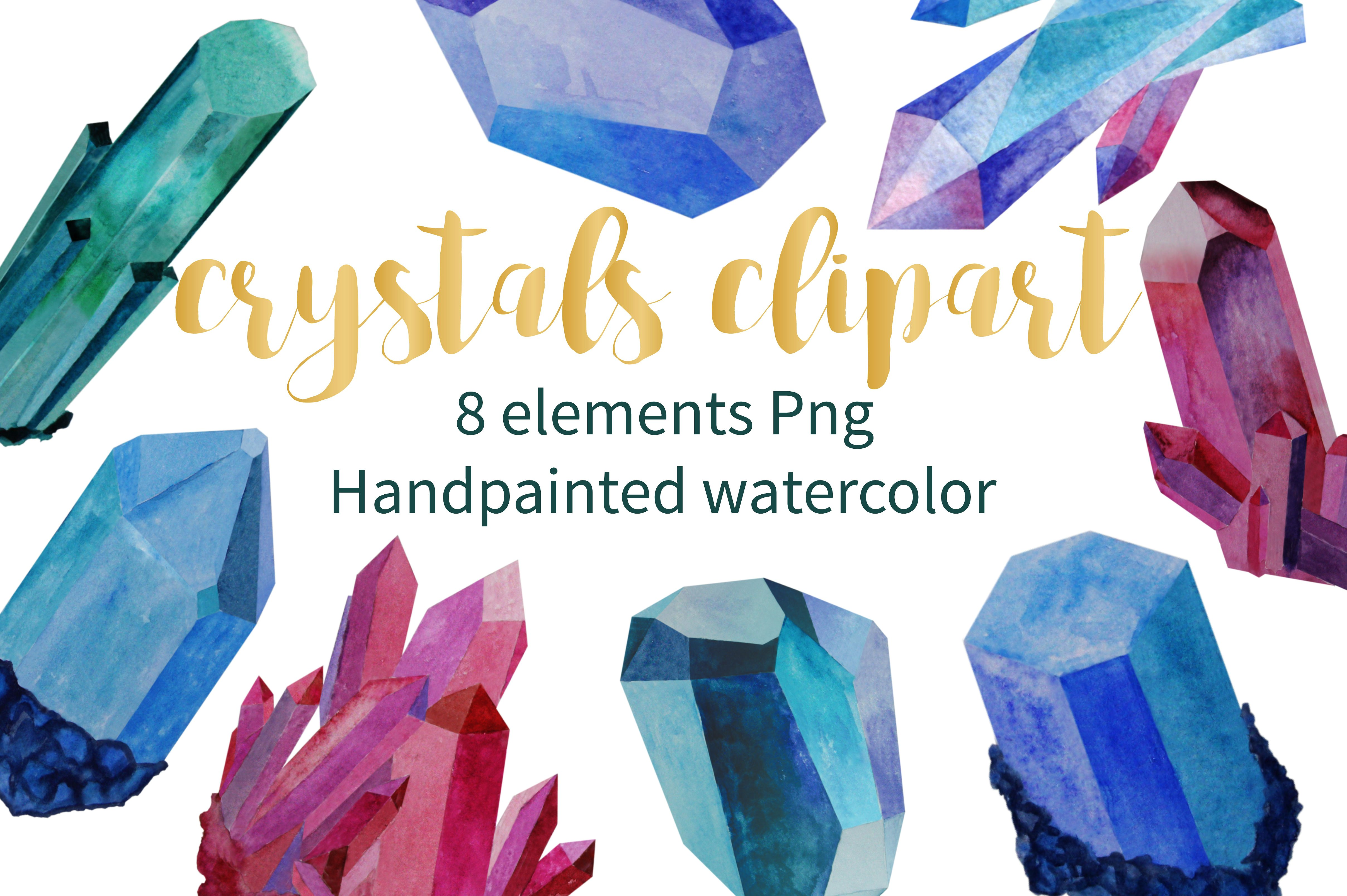 Crystals clipart #4, Download drawings
