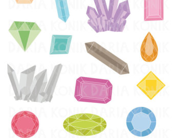 Crystals clipart #9, Download drawings