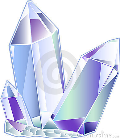 Crystals clipart #3, Download drawings