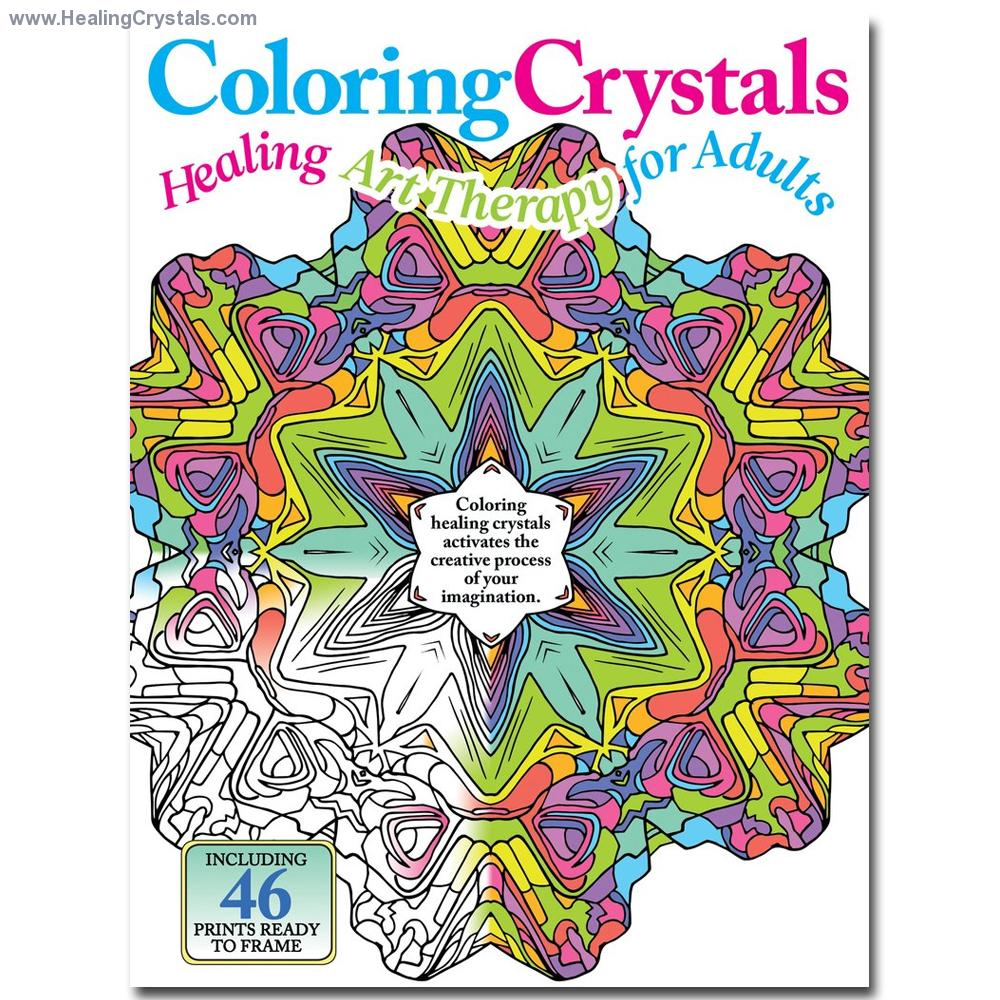 Crystals coloring #11, Download drawings
