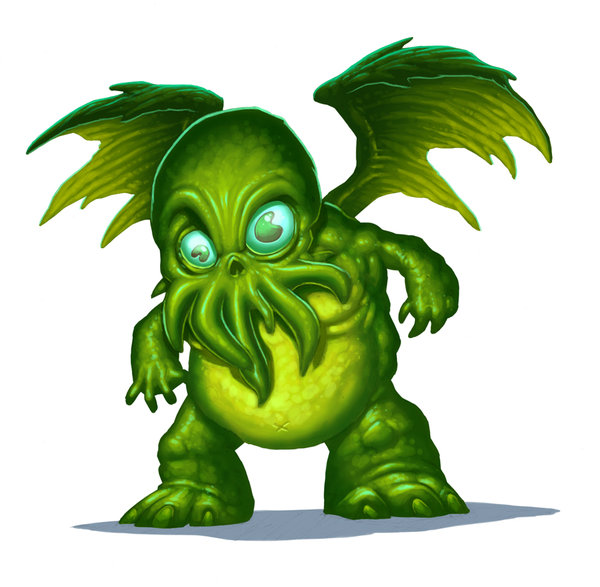 Cthulhu clipart #9, Download drawings