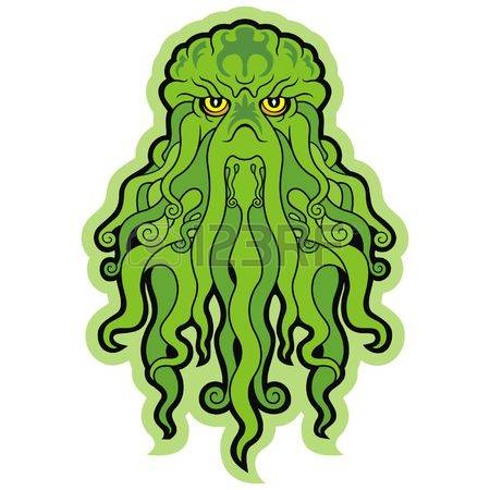 Cthulhu clipart #18, Download drawings