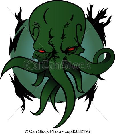 Cthulhu clipart #8, Download drawings