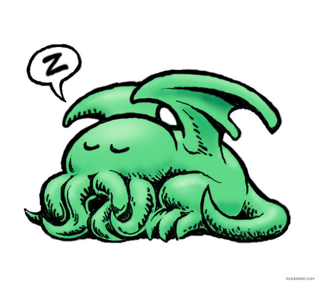 Cthulhu clipart #4, Download drawings