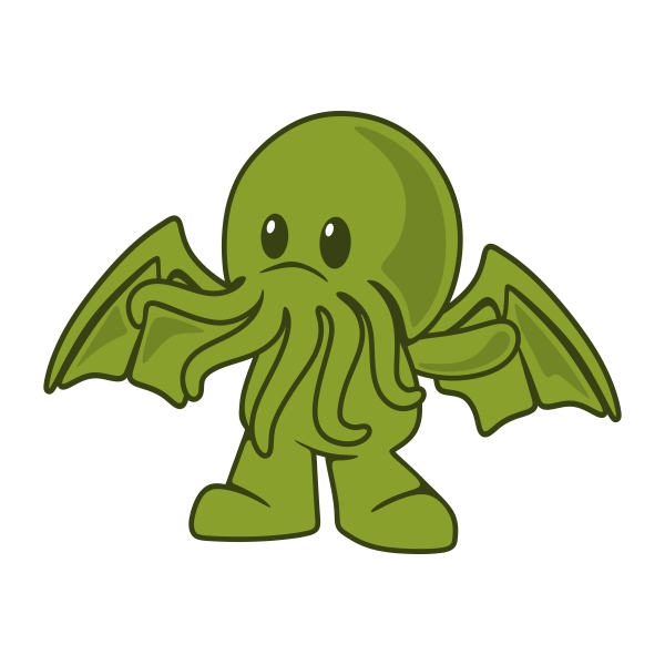 Cthulhu svg #9, Download drawings