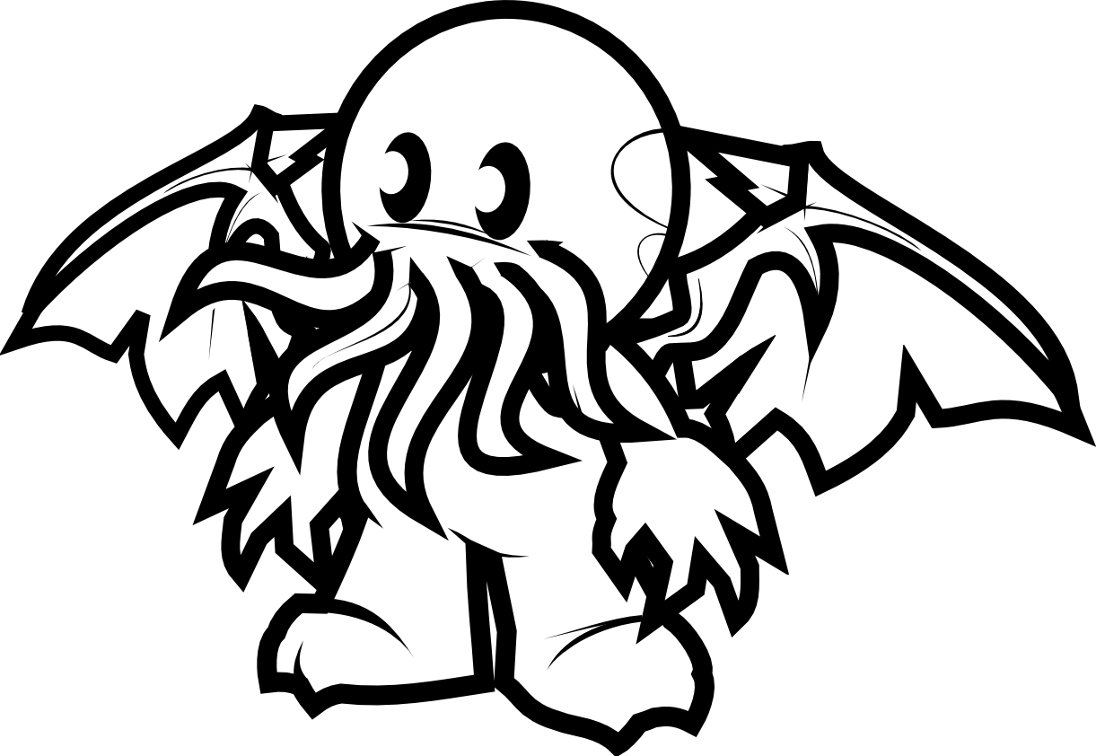 Cthulhu svg #1, Download drawings