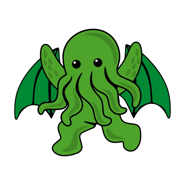 Cthulhu svg #5, Download drawings