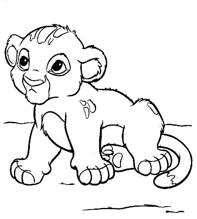 Cub coloring #20, Download drawings
