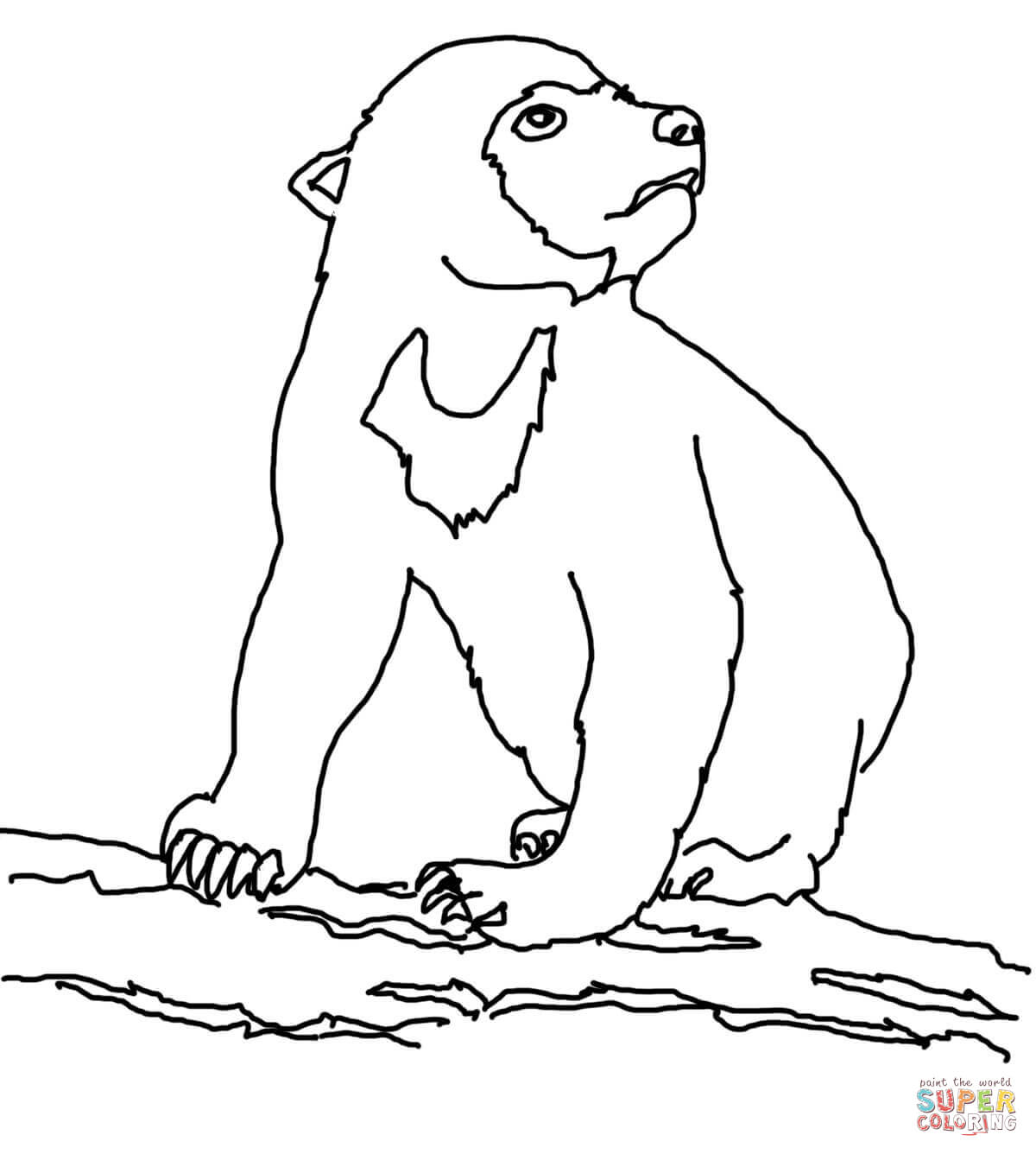 Cub coloring #11, Download drawings