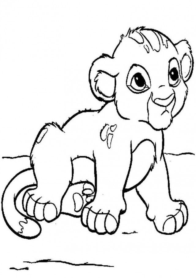 Cub coloring #7, Download drawings