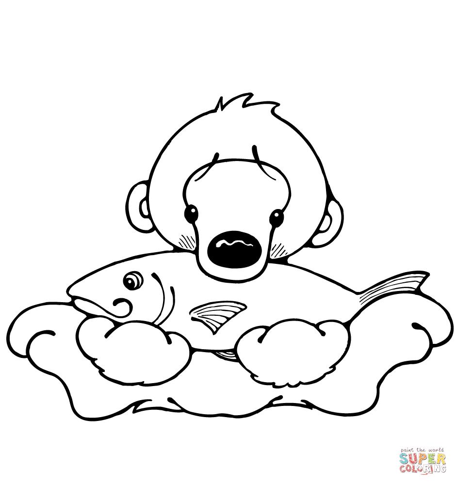 Cub coloring #1, Download drawings