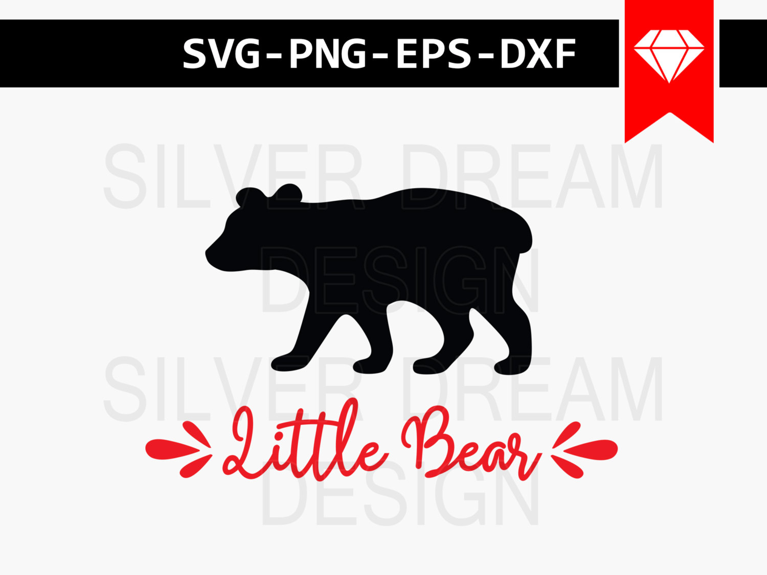 Bear Cub svg #182, Download drawings