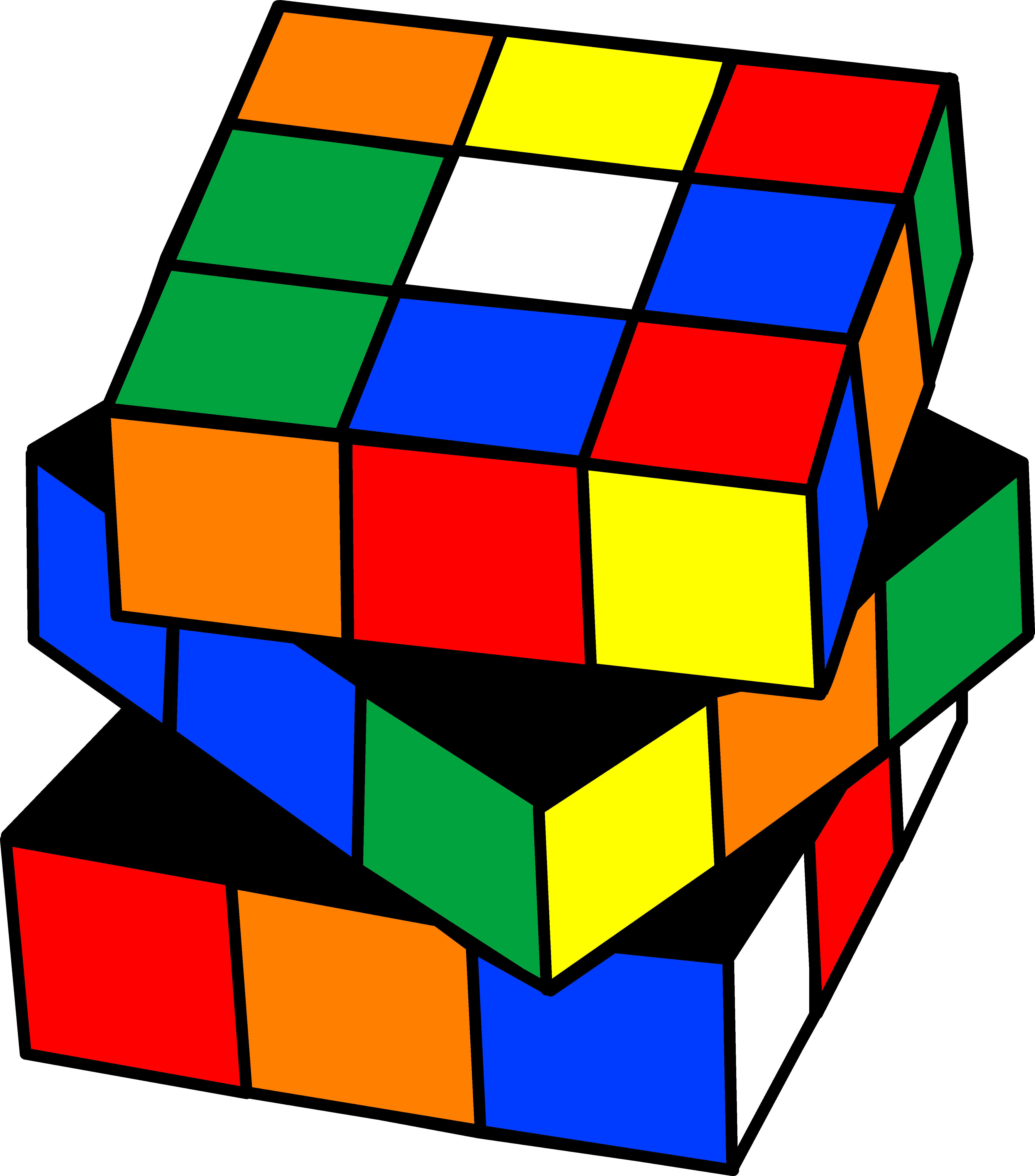 Cube clipart #2, Download drawings