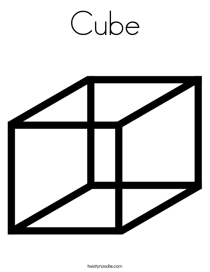 Cube coloring #19, Download drawings