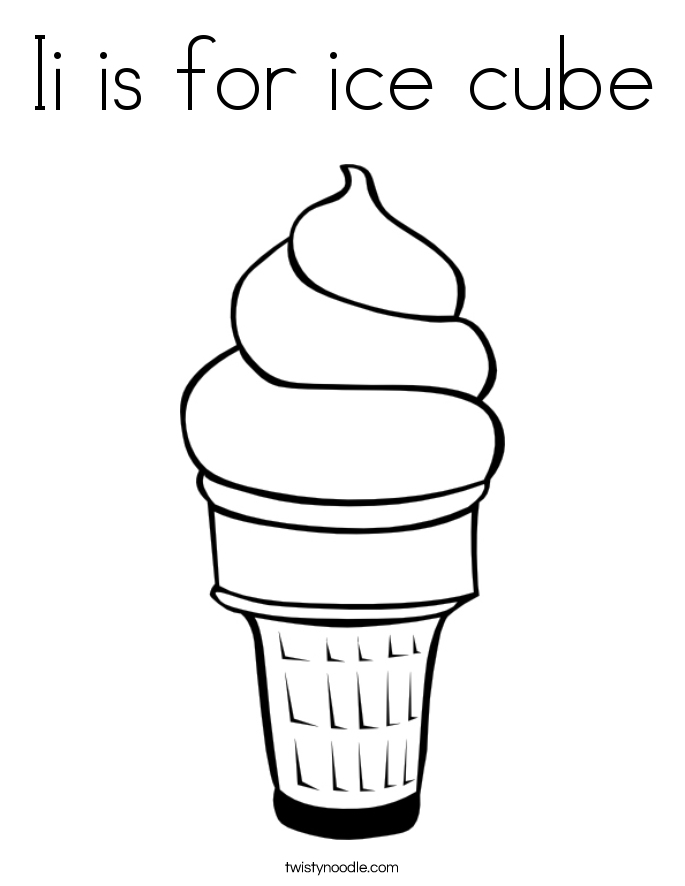 Ice Cubes coloring #19, Download drawings