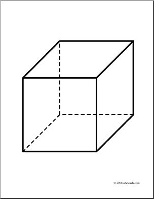 Cube coloring #14, Download drawings