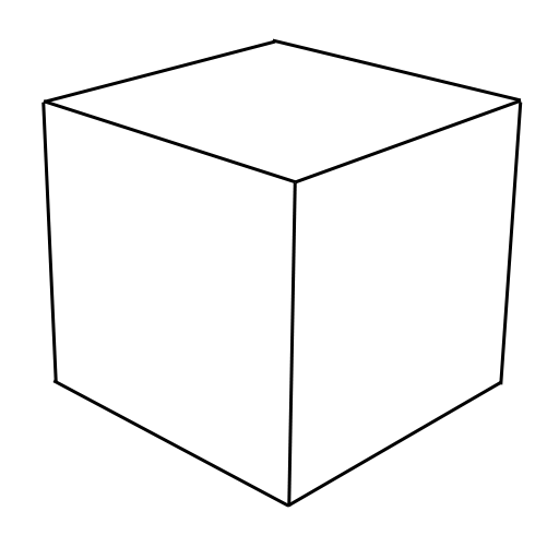 Cube coloring #16, Download drawings