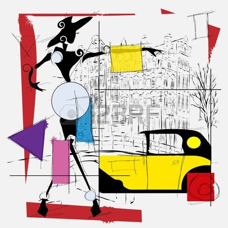 Cubism clipart #18, Download drawings
